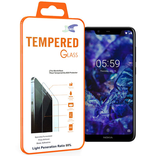 9H Tempered Glass Screen Protector for Nokia 5.1 Plus